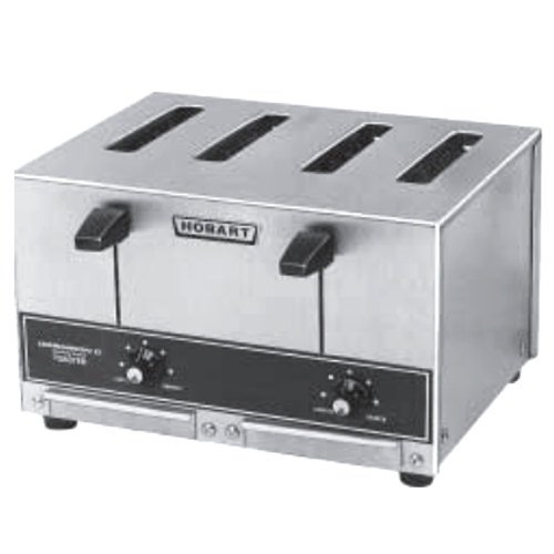 Hobart ET27-4 Four Slice Pop-up Toaster