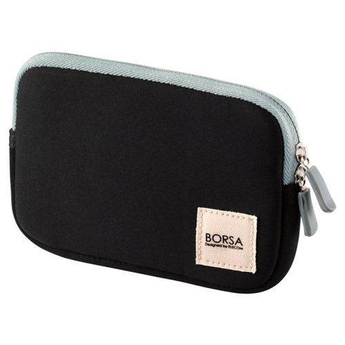 ELECOM Gadget Pouch Multi Pourch Case Soft Type Size S Black BMA-GP04BK by Elecom
