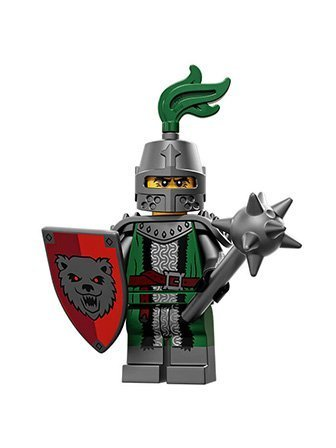 LEGO Series 15 Collectible Minifigure 71011 - Frightening Knight (Lego Medieval Sets)