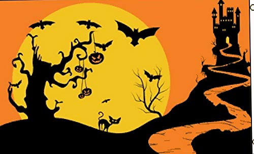 Hebel 3x5 Halloween Night Trick or Treat Flag 3x5 House Banner Grommets | Model FLG - 1030]()