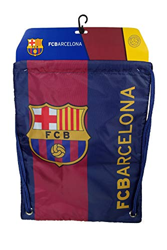 Fc Barcelona Authentic Official Licensed Soccer Drawstring Cinch Sack Bag 02-A4 by F.C. Barcelona