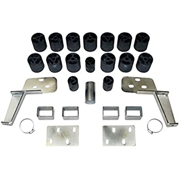 fits 1988 to 1994 PA10013 Chevy//GMC Silverado// Sierra 1500//2500 Gas 2WD and 4WD Std//Ext//Crew Cab 3 Body Lift Kit Performance Accessories Made in America