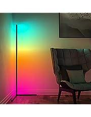 Corner Floor Lamp Minimalist LED Color Changing Lights Floor Lamp
