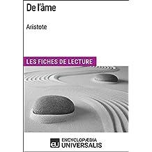 De l'âme d'Aristote: Les Fiches de lecture d'Universalis (French Edition)