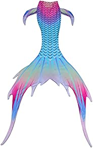 Kids Girls Boys and Women Mermaid Tail Swimwear, Luxurious Swimming Tail, Princess Swimsuit, Party Cosplay Cos