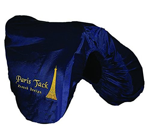 paris-tack-all-purpose-english-saddle-cover-with-fleece-lining-navy-gold-trim