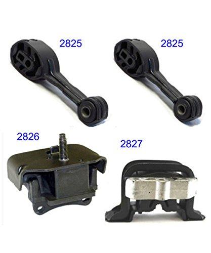 A2825 A2825 A2826 A2827 for 1992-2002 Saturn SC/SL/SW Series 1.9L Engine Motor & Trans Mount Set 4PCS