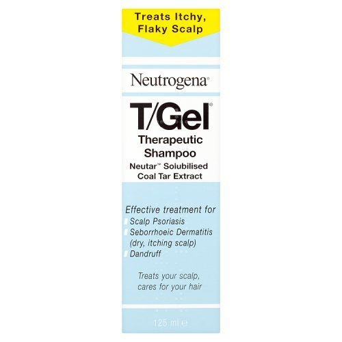 Neutrogena T/Gel Therapeutic Shampoo Treatment for Scalp Psoriasis, Itching Scalp and Dandruff 125ml - Neutrogena Coal Tar Shampoo