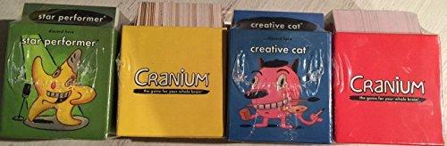 Cranium Cards, New, Replacement, 4 (New Cranium)
