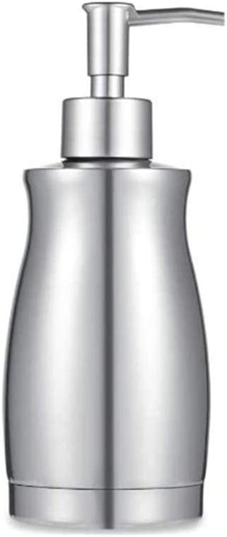 Soap Dispenser, AlpineBro Stainless Steel Rust and Leak Proof System Hand Soap Dispenser, Kitchen and Bathroom Pump for Liquid (13.5 Ounce / 400ML)