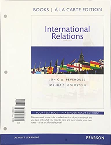 International Relations Goldstein 10th Edition Pdf