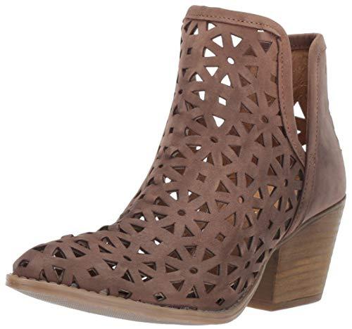 Musse & Cloud Women's Athena Western Boot, Dark Brown, 39 Medium EU (8-8.5 US)