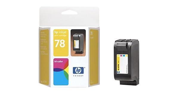 C6578DN#140 HP Designjet 700 Tinta tricolora: Amazon.es: Oficina y papelería