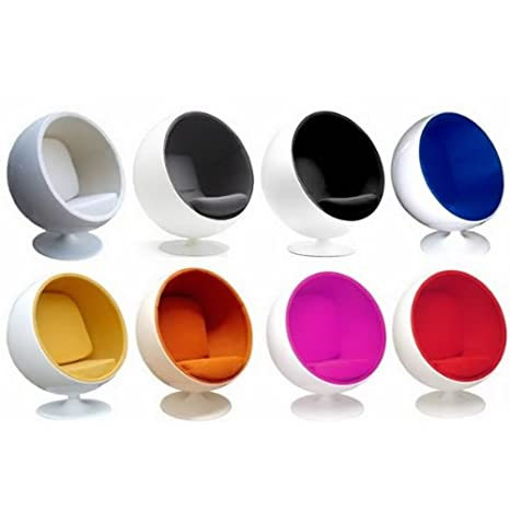 UK 068   Colour Ball Chair Contemporary Designer Retro Pod Egg Globe:  Amazon.co.uk: Kitchen U0026 Home