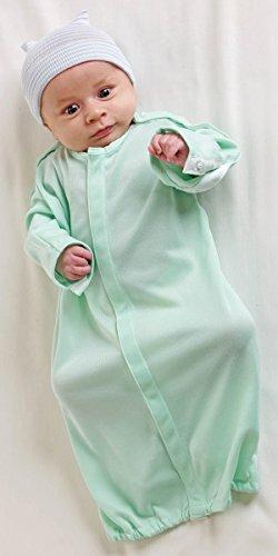 medline-mdt01144inf-infant-iv-gowns-0-6-month-green-pack-of-24