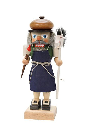 German Christmas Nutcracker - Toymaker - 24,5cm / 10 inch - Christian Ulbricht by Authentic German Erzgebirge Handcraft
