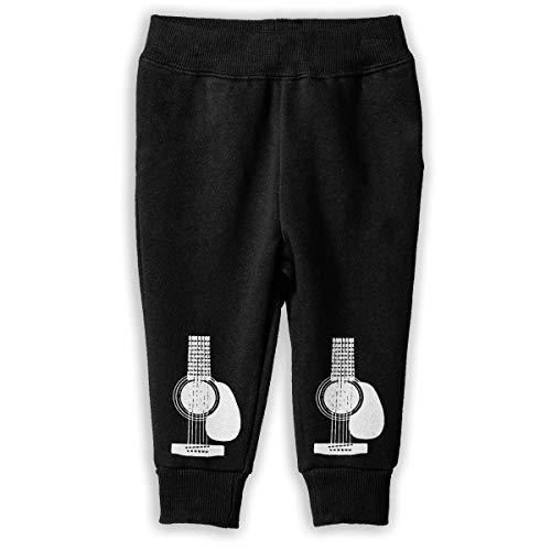 UGFGF-S1 Acoustic Guitars Children Baby Boys Girls Jogger Pants Jogger Sweatpants 2-6 -