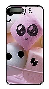 iPhone 5 5S Case Cute Candy PC Custom iPhone 5 5S Case Cover Black