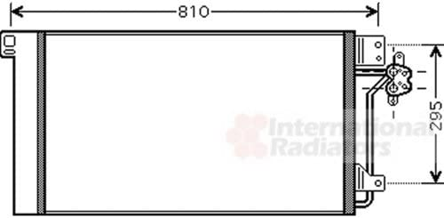 Klimaanlage VAN WEZEL 58005236 Kondensator