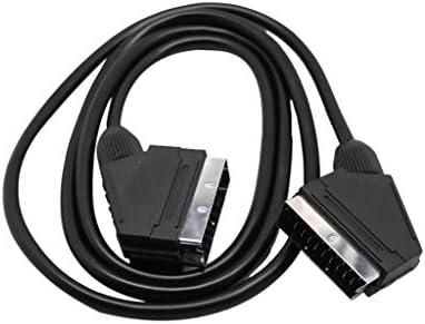 Almencla スカートケーブル 接続ケーブル VIDEO/TV/SKY/VCR/DVDに適用 双方向