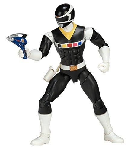 Power Rangers Black Ranger (Power Rangers In Space 6.5-Inch Black Ranger Legacy)