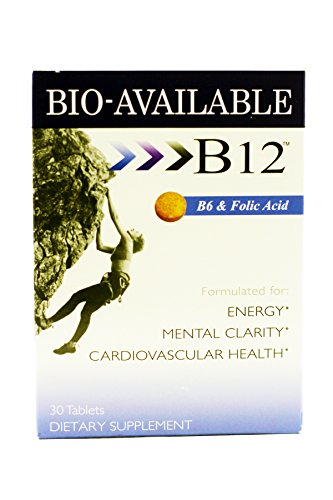 Amazon.com: Sublingual B12, B6 ,+ Folic Acid Fast Dissolve Tabs 30 Tablets (2 Pack): Health & Personal Care