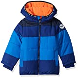 OshKosh B'Gosh Boys' Heavyweight Colorblock Puffer Coat