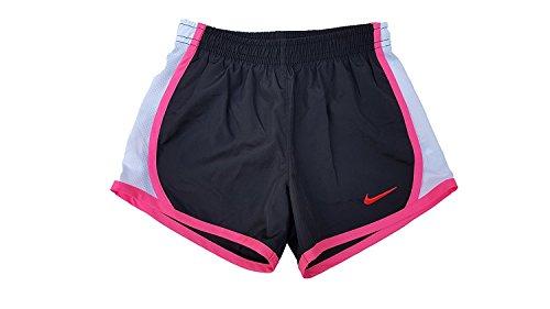 Nike Flickor Torra Tempo Kör Shorts Svart / Hyper Rosa
