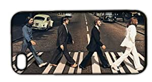 Beatles Abbey Road Apple iPhone 5 RUBBER Case/Cover