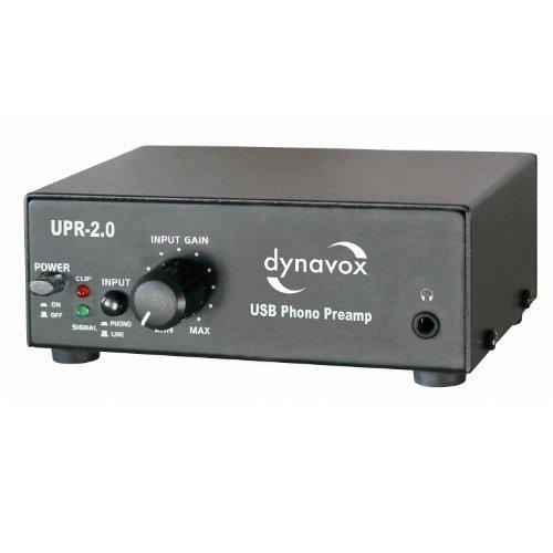 Amazon.com: Dynavox Phono Preamplifier with USB/UPR-2.0 ...