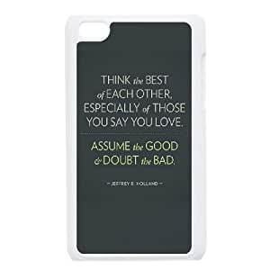 iPod Touch 4 Case White think the best of each other 1 LSO7922382