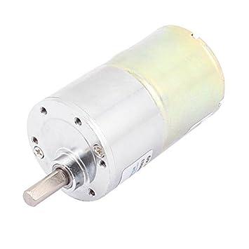 DC 12V 6 milímetros Shaft 40 rpm Velocidade Redução Gear Box Electric Motor