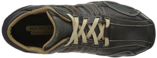 Skechers nbsp; Black Sportive Tan Outdoor Uomo Scarpe Vassell Diameter 62607 r8q15wrZ