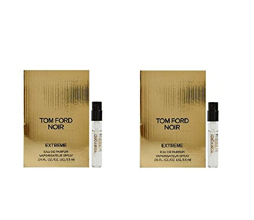 Extreme Edp - Lot of 2 Tom Ford Noir Extreme EDP Vial Spray 0.05oz/1.5ml Each by Tom Ford
