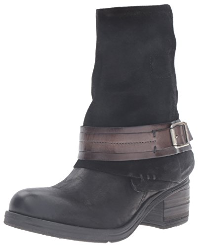 Miz Boot Mooz with Sargent Women's Accent Black Buckle qqvdtwr