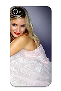 Freshmilk Top Quality Rugged Cameron Diaz Hd Pics Case Cover Deisgn For Iphone 4/4s For Lovers
