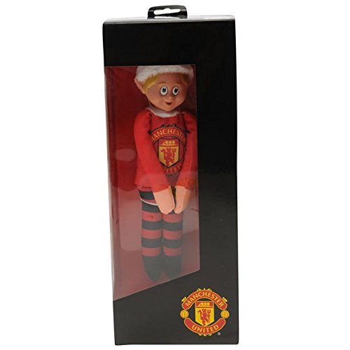 (Manchester United Fc Team Elf Christmas Football Collectables)