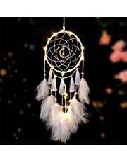 LED Dream Catcher, Handmade Dream Catchers for Bedroom Wall Hanging Decorations Ornaments Craft
