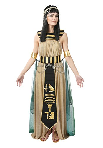 All Powerful Cleopatra Women's Costume Large Brown -