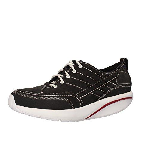 MBT Sneakers Mens 8-8, 5 US / 42 EU Black Nubuck