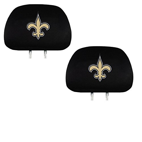 (Official National Football League Fan Shop Authentic Headrest Cover (New Orleans Saints))