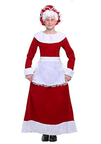 Girls Mrs. Claus Costume (Mrs Claus Costume Child)