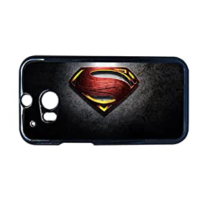 Generic Slim Back Phone Case For Girl Custom Design With Man Of Steel For Htc One M8 Choose Design 5