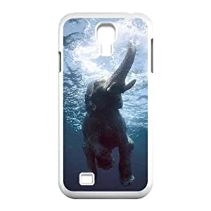Bathing Elephant Customized Cover Case with Hard Shell Protection for SamSung Galaxy S4 I9500 Case lxa#844366