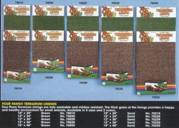 FP TERRARIUM GREEN LINER 48X15 by Four Paws