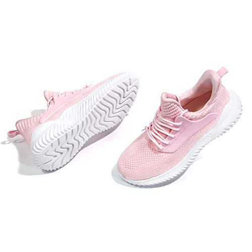 IPETSUN Women's Athletic Walking Shoes - Slip On Memory Foam Lightweight Breathable Mesh Running Sneakers for Gym Travel Work