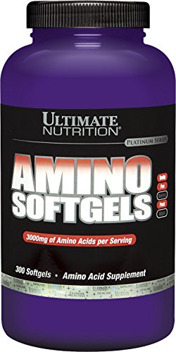 Ultimate Nutrition Amino Acid Supplement - 300 softgels