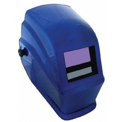 Jackson Safety Nitro WH40 Series Blue Helmet Assembly - Auto-Darkening Lens - Power Supply Solar - 3.8 in Viewing Width - 1.6 in Viewing Height - 21931 [PRICE is per EACH]