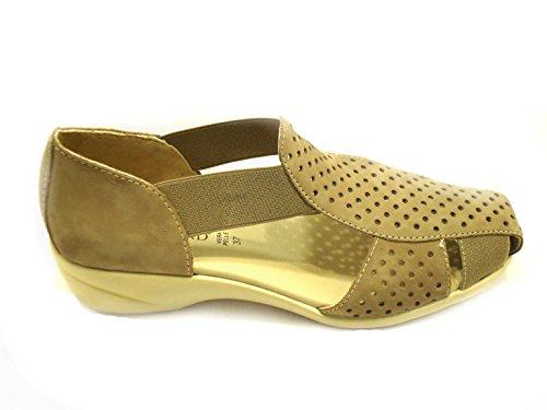 GRÜNLAND Women's Fashion Sandals Taupe SG02uzsM