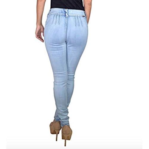 good Women&39s Super Comfy Stretchy Brazilian Skinny Jeans Ice Wash